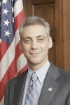 Rahm Emanual (Same grey suit?)